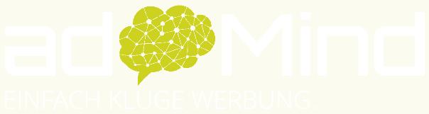 Logo Weiß der Firma Media adMind